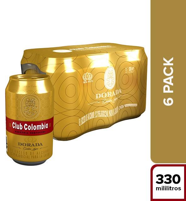 Cerveza dorada
