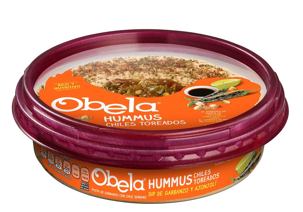 Hummus sabor chiles toreados