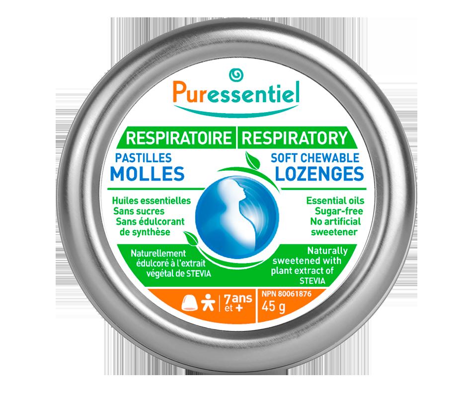 Respiratory soft chewable lozenges