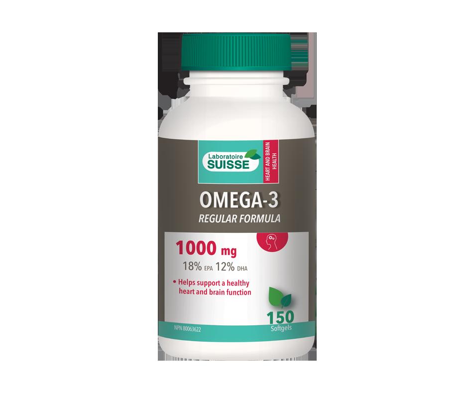 Omega-3 regular formula 1000 mg softgels