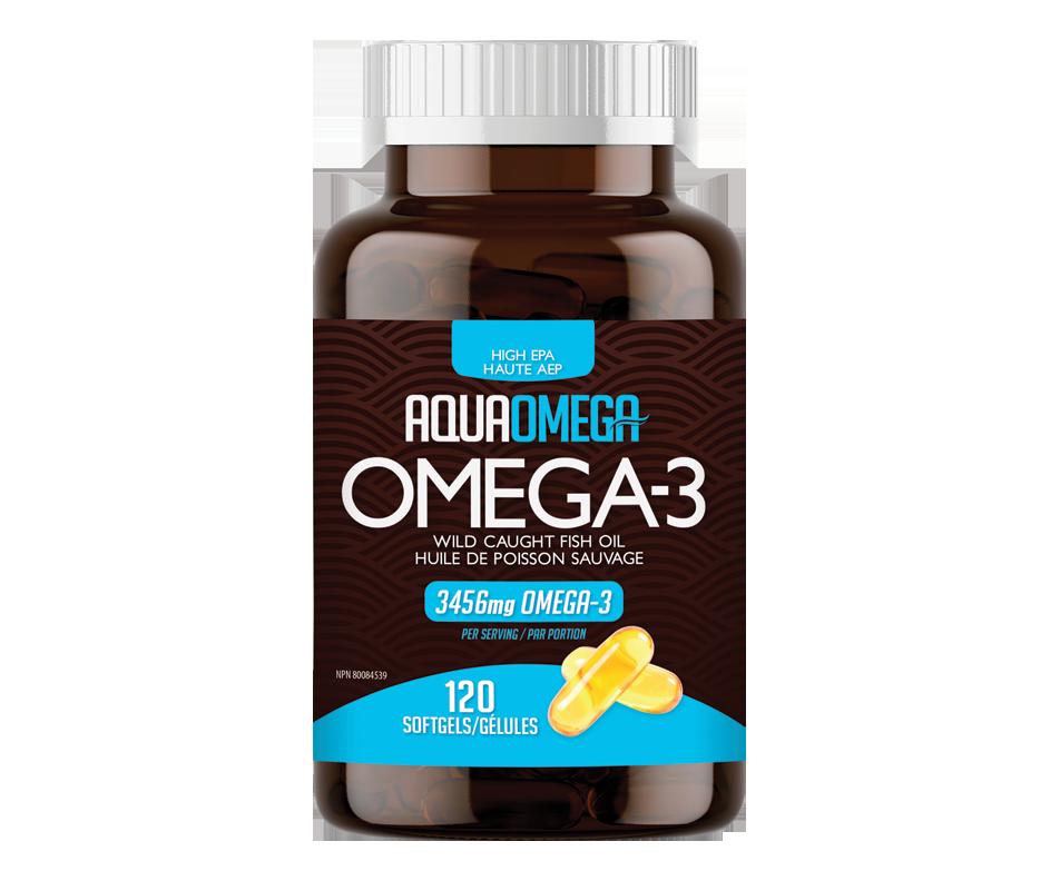 Omega-3 Softgels, Wild Caught Fish Oil