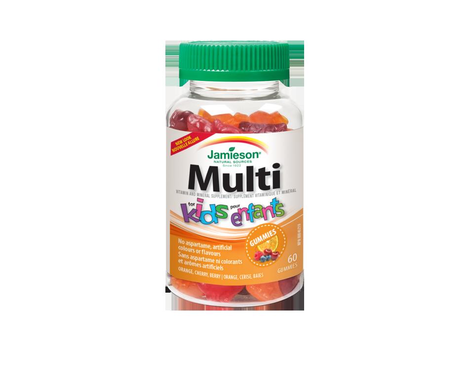 Multivitamin for kids gummies