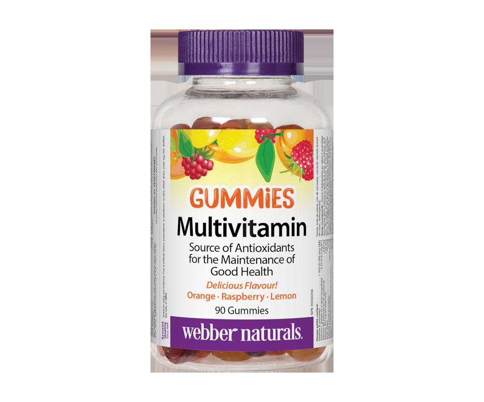 Multivitamin Gummies, Orange Raspberry Lemon