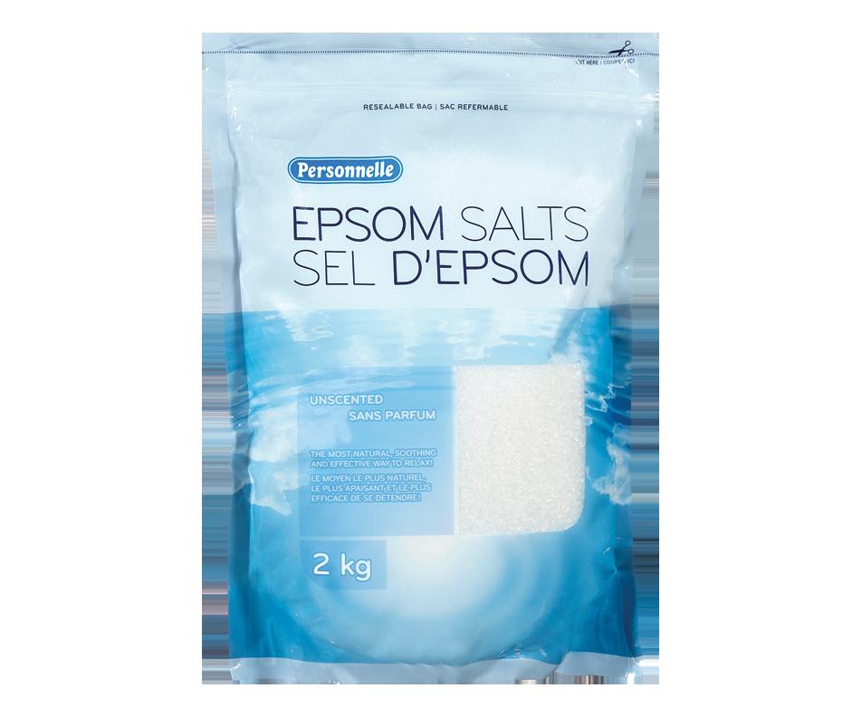 Epsom salts unscented
