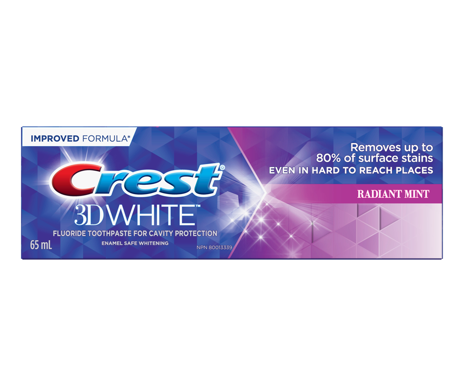 Whitening toothpaste 3D radiant mint