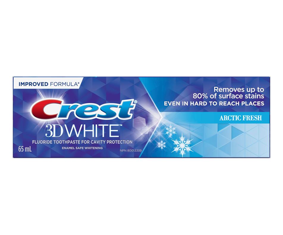 3D White Whitening Toothpaste