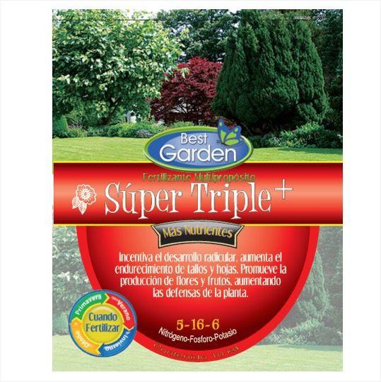 Fertilizante super triple 10kg Bolsa 10 Kg