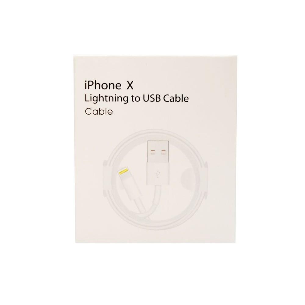 Cable Certificado para Iphone 5 en adelante, 1 metro Caja 1 UNIDAD