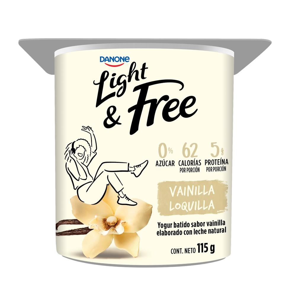 Yogurt batido vainilla