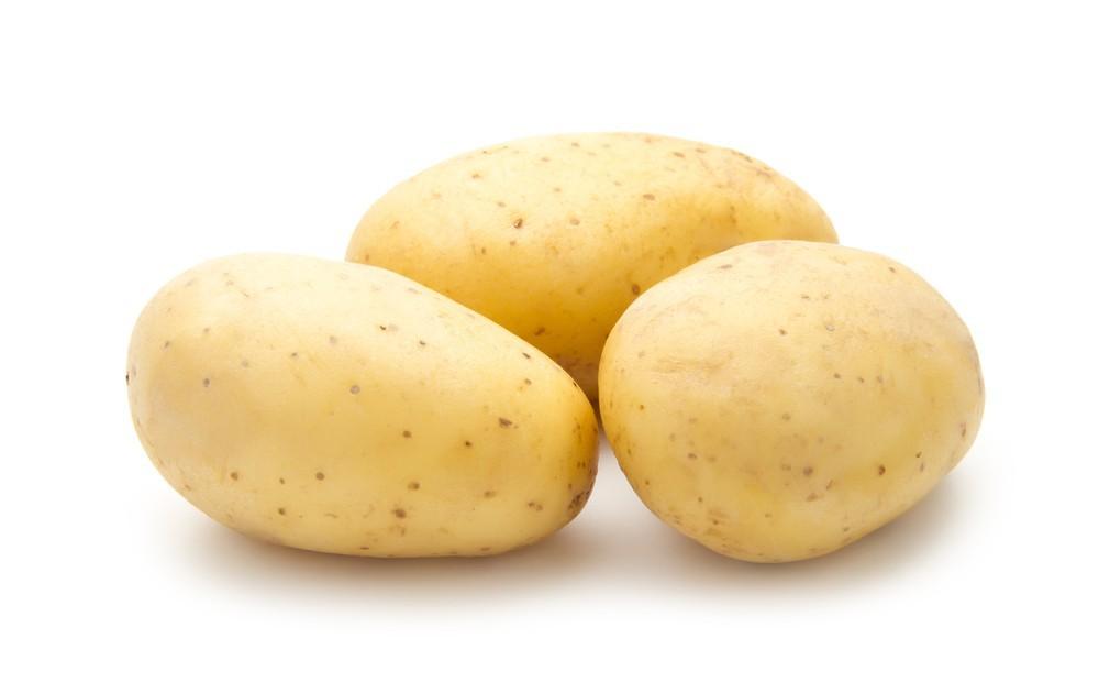 Gold potatoes organic