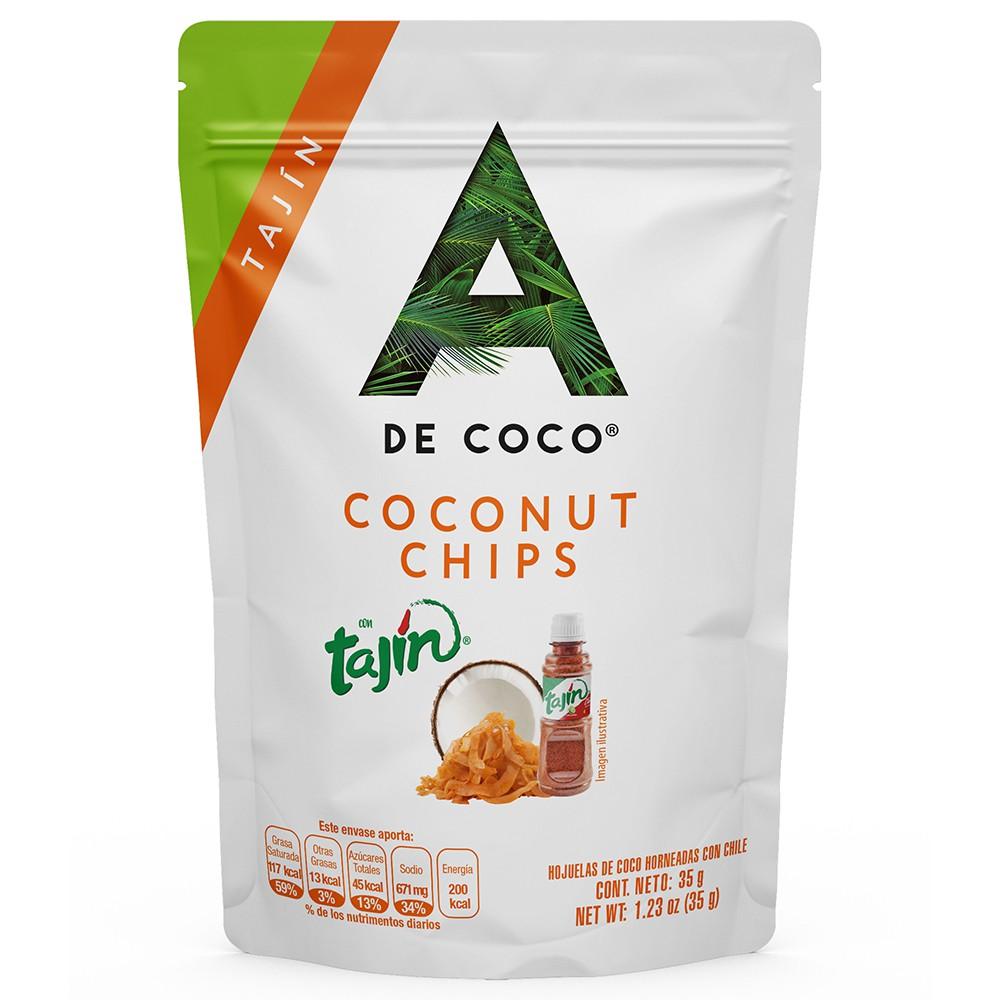 Coco chips tajin