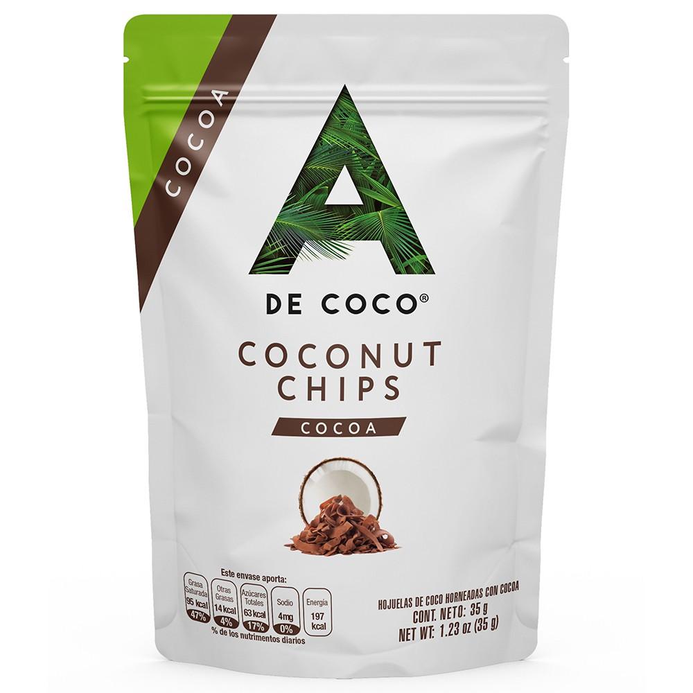 Coco chips cocoa