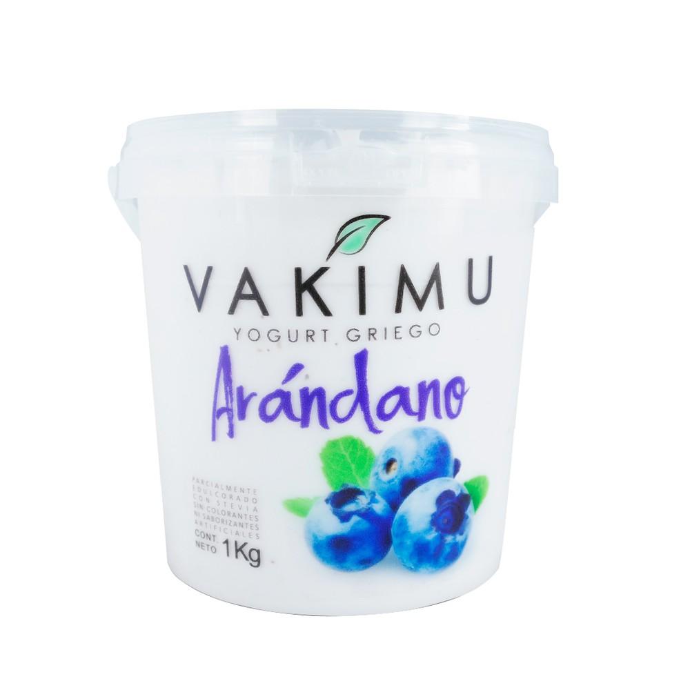 Yogurt Griego Vakimu Arándano 1 Kg