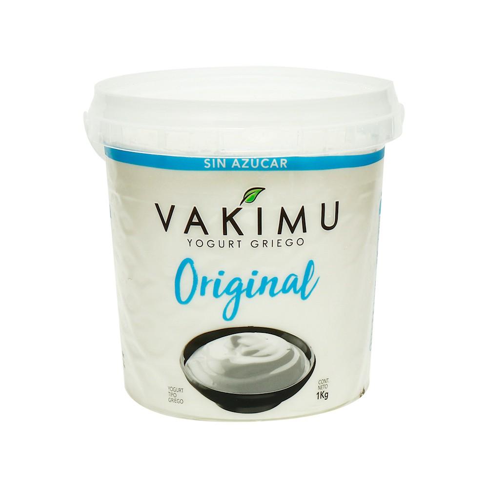 Yogurt Griego Vakimu Original 1 Kg