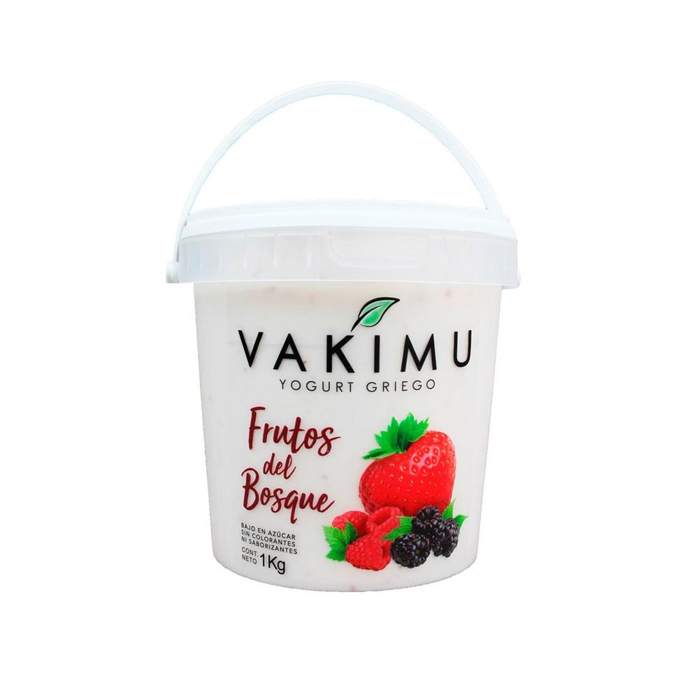 Yogurt Griego Vakimu Frutos del Bosque 1 Kg
