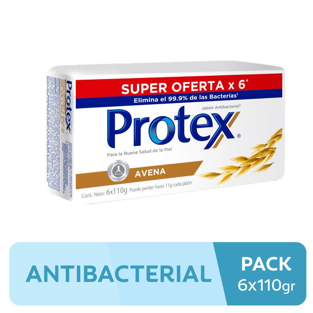 Jabón antibacterial avena