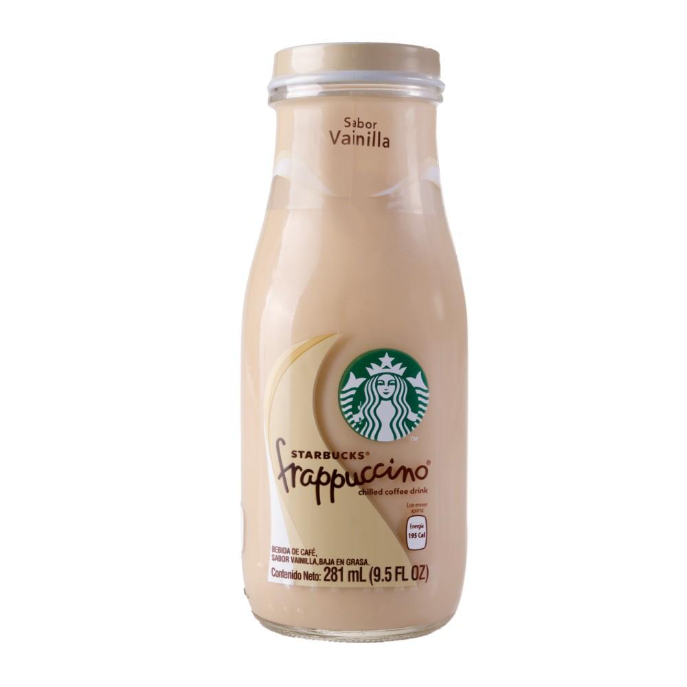 Frapuccino Vainilla Starbucks Botella 9.5 oz