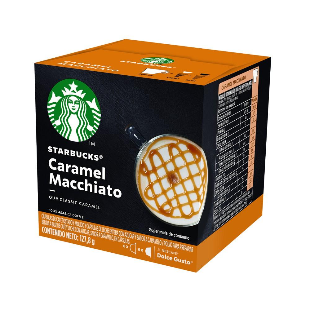 Cápsulas de café caramel macchiato