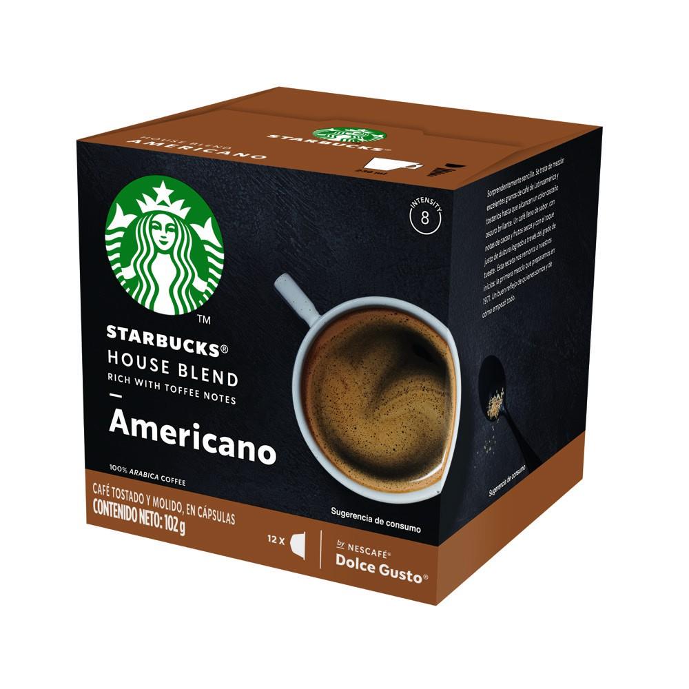 Cápsulas de café house blend Americano