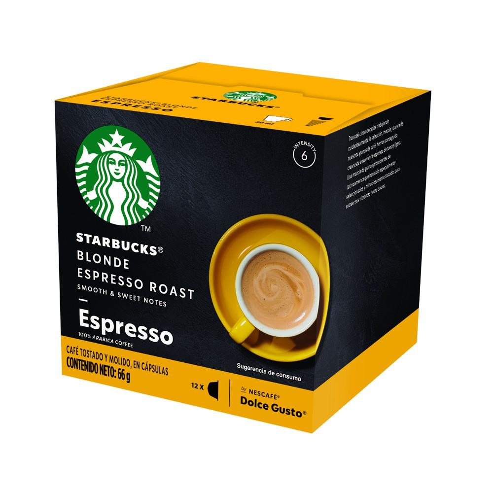 Cápsulas de café blonde Espresso Roast