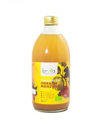 Vinagre de sidra de manzana orgánico 500 ml