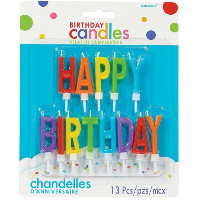 Velas palillo happy birthday