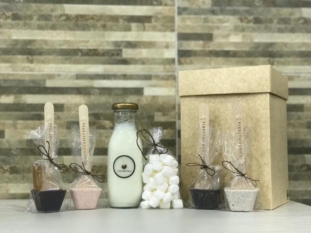 Kit botella de leche Caja de 900 gr