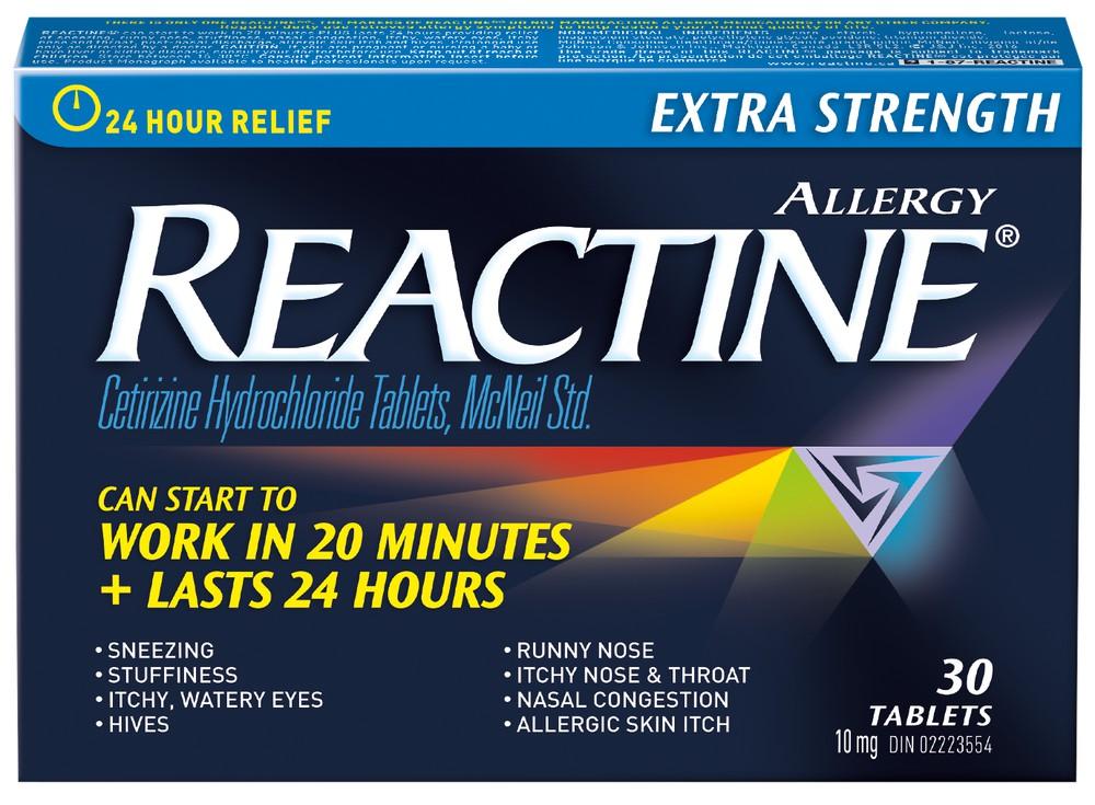 Antihistamine 10 mg 24 hr 30 units