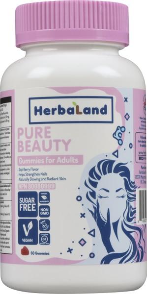 Herbaland Pure Beauty Adult Gummies 60