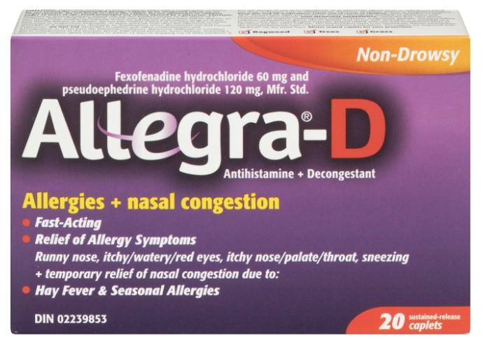 Allegra D Tb 20