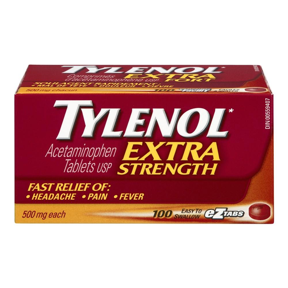 Acetaminophen tablets 500 mg 100 ea