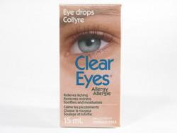 Clear eyes allergies sol