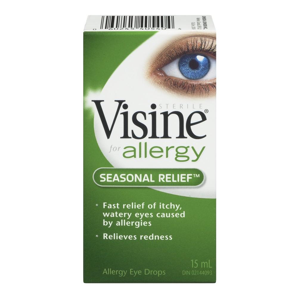 Visine Eye Drop Allergy