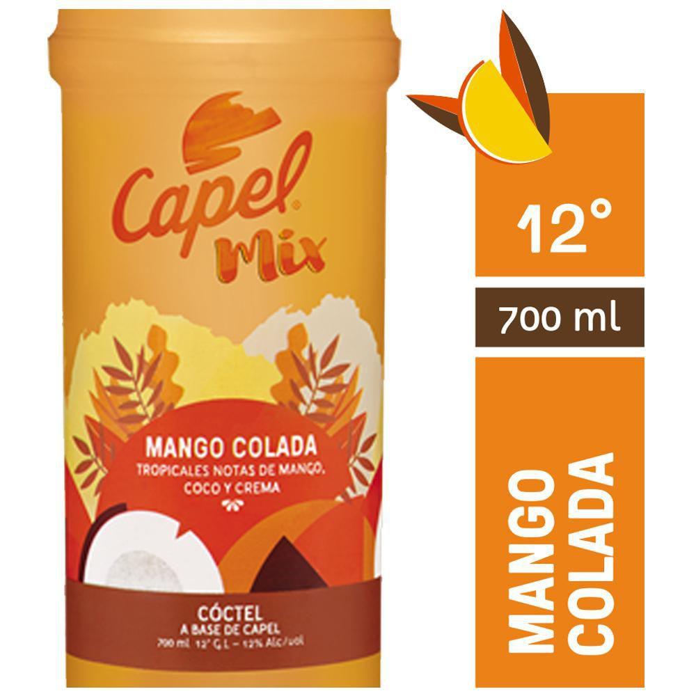 Mango colada 12° Botella 700 ml