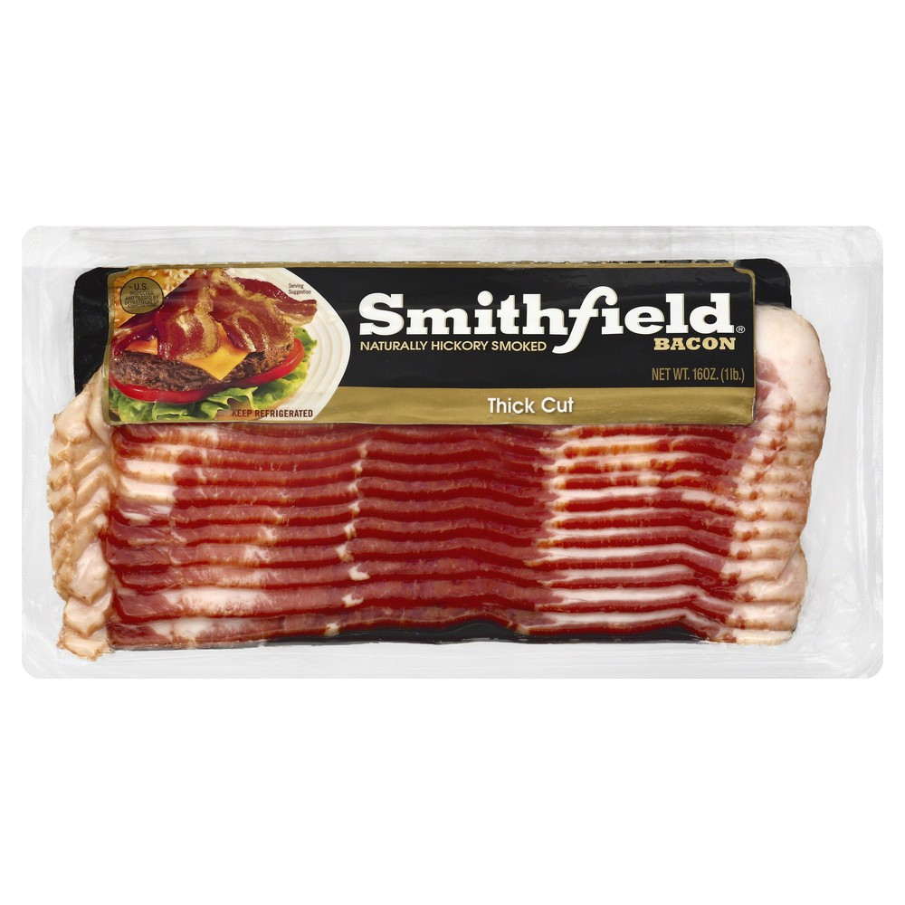 Hickory Smoked Bacon Thick Cut