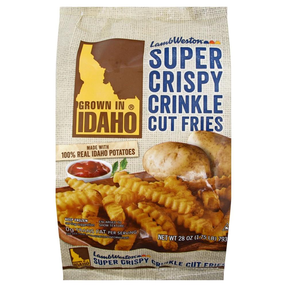 Frozen Super Crispy Crinkle Cut Potato Fries