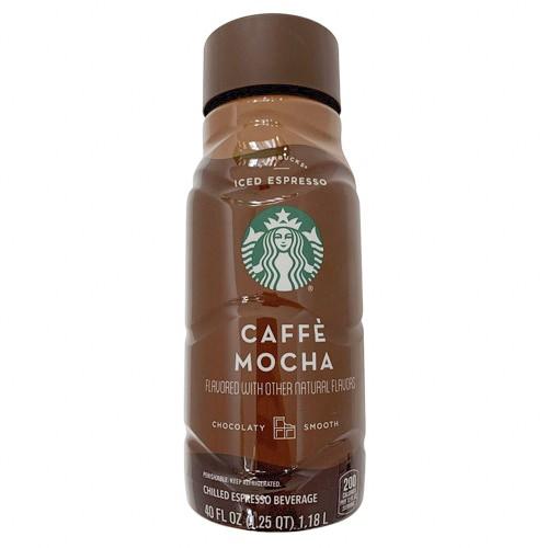 Iced Espresso Classics Caffe Mocha Starbucks 40 fl oz delivery | Cornershop  by Uber