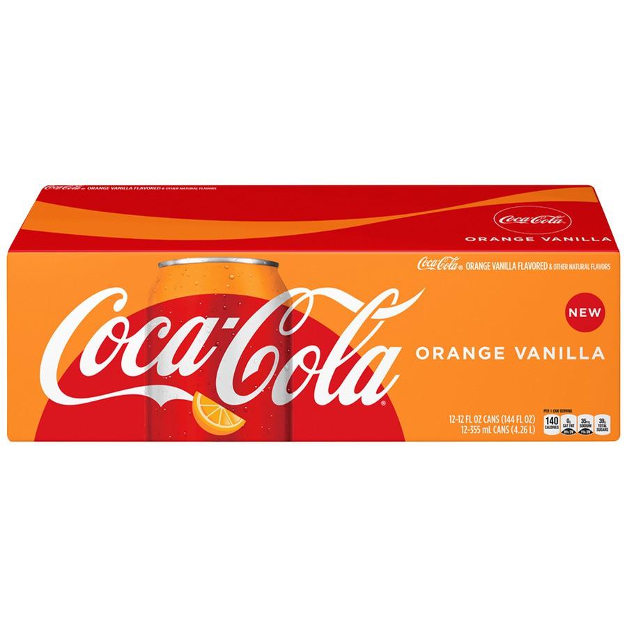 Orange Vanilla Soda