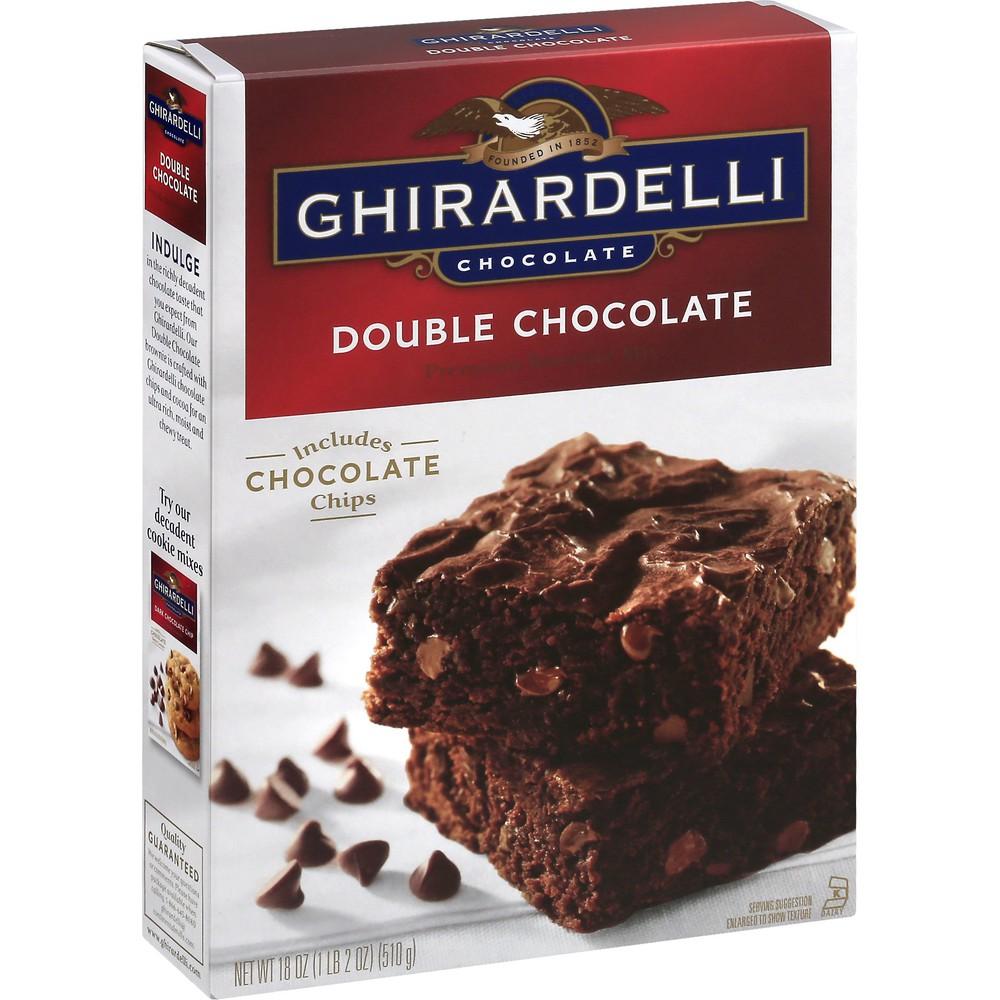 Chocolate Brownie Mix Premium Double Chocolate