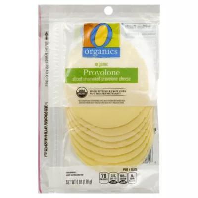 Organic Cheese Sliced Provolone