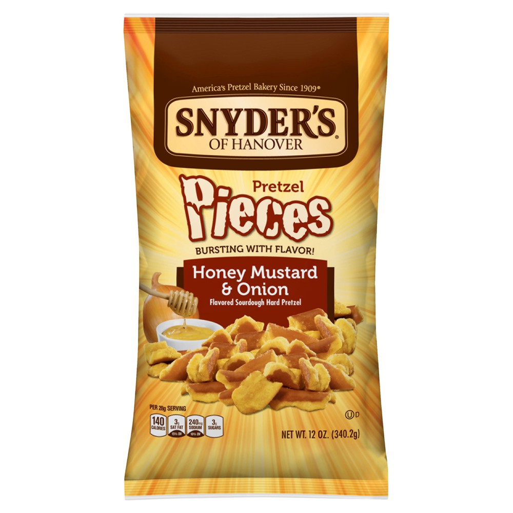 Nyders Of Hanover Pretzel Pieces Honey Mustard & Onion