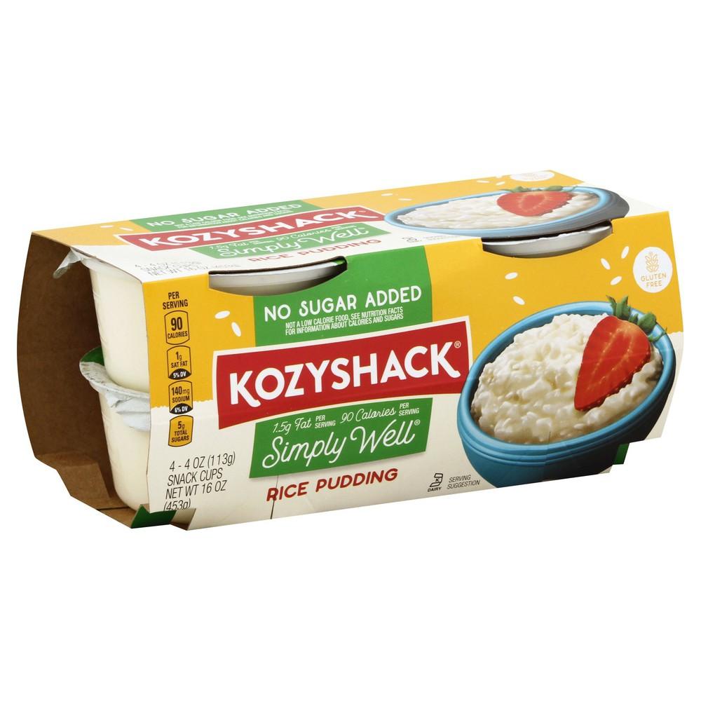 Kozy shack rice pudding