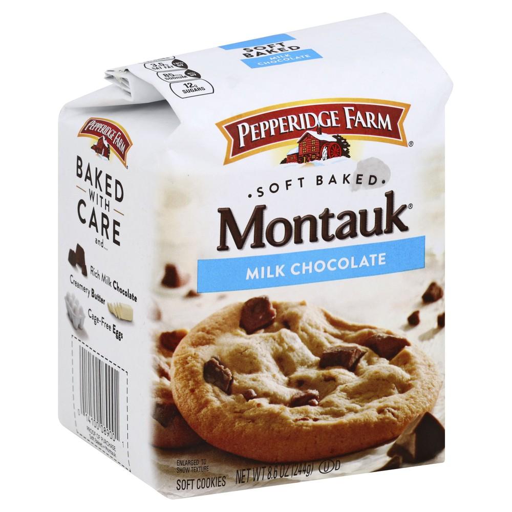 Cookies soft baked chunk montauk milk chocolate cookie