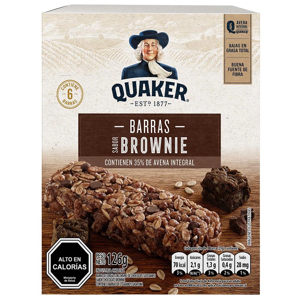 Barra brownie chocolate