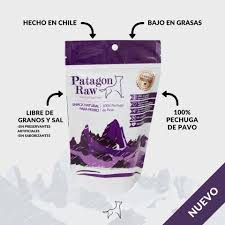 Patagon raw- snack natural para perros 100% pechuga de pavo