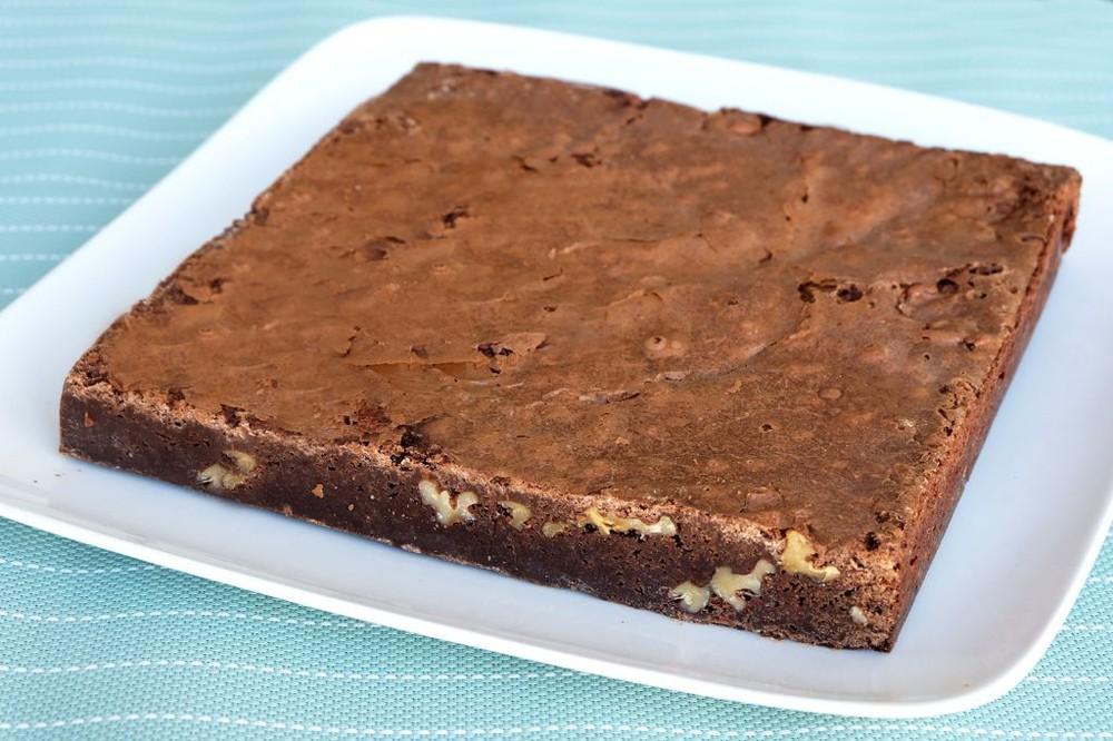 Bloque Brownie con Nueces