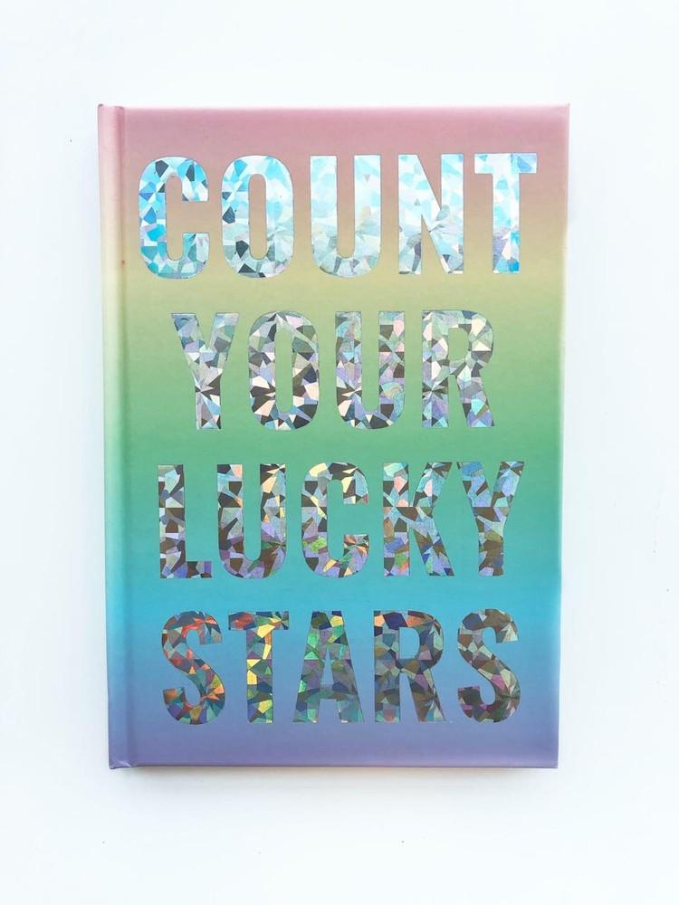 Libreta tapa dura arcoiris lucky stars