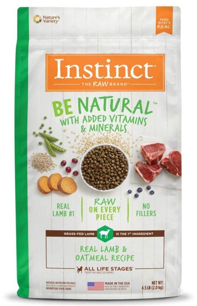 Instinct be natural lamb