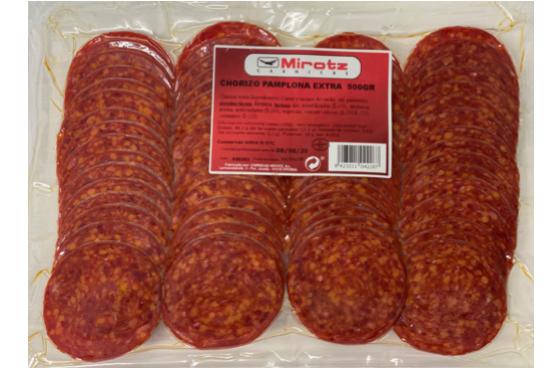Chorizo pamplona Sobre 500 gr