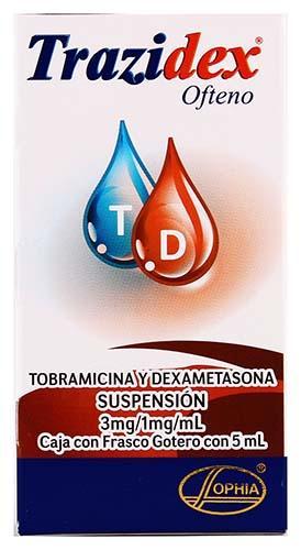 Trazidex suspensión oftálmica
